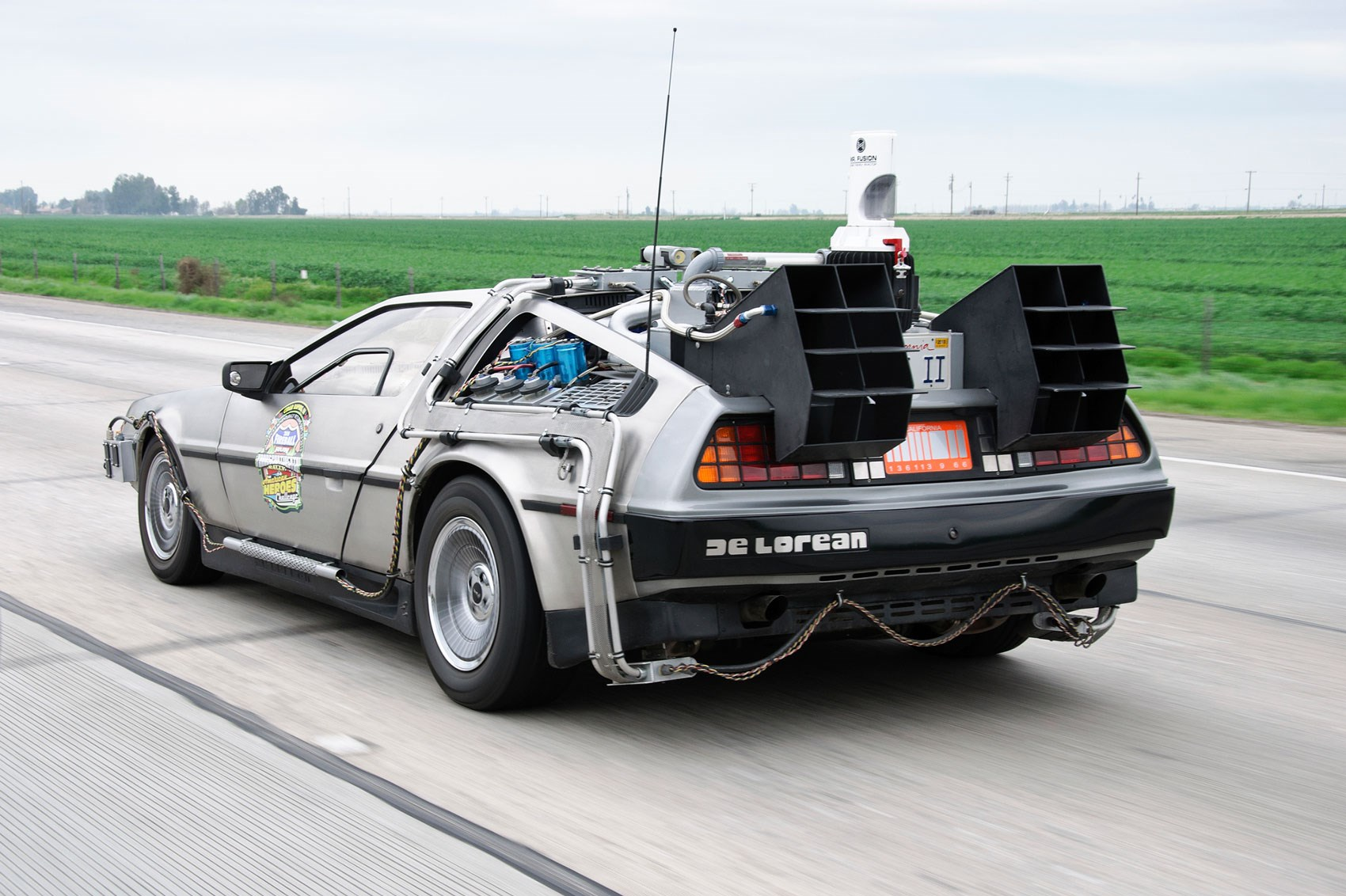 Back To The Future Day A Roundup Of All The Delorean