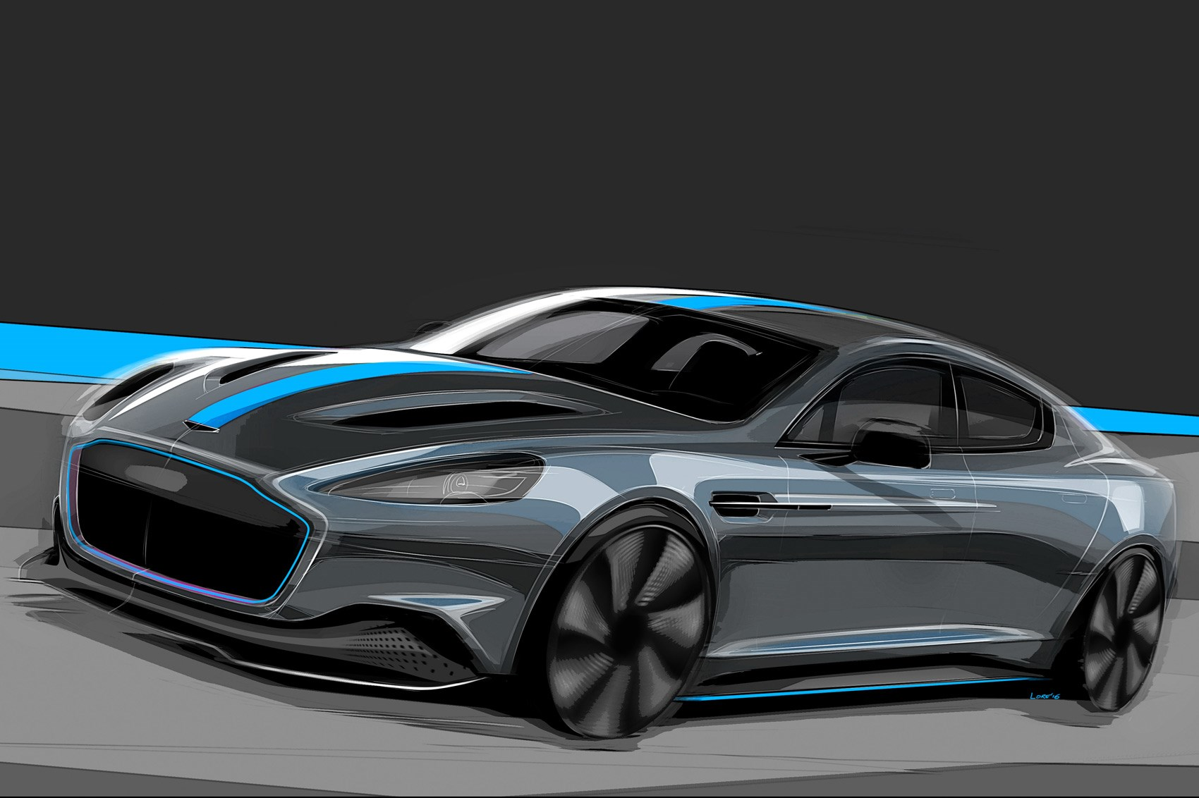 all electric aston martin rapide confirmed for production by car magazine. Black Bedroom Furniture Sets. Home Design Ideas