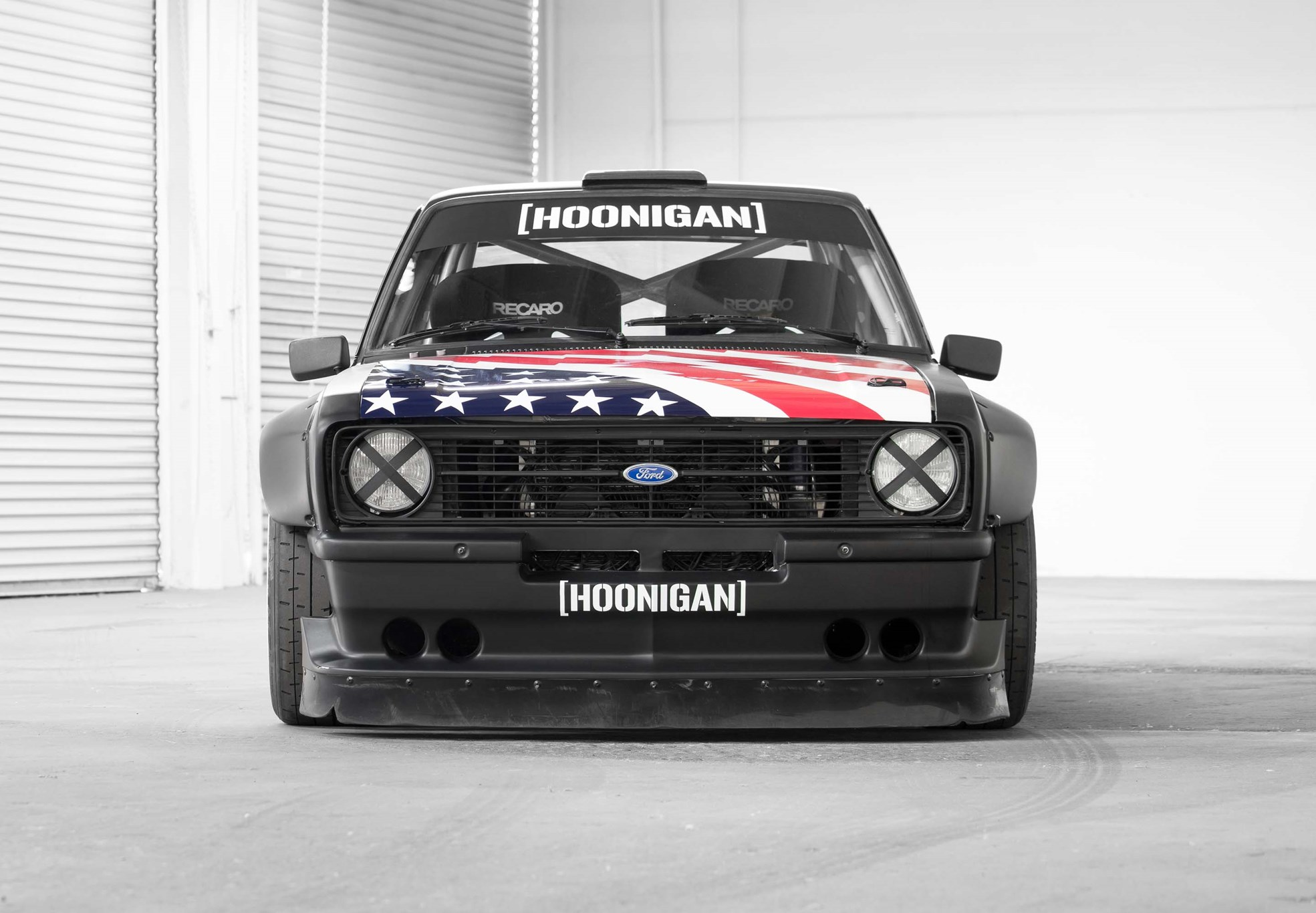 Hoonigan Escort >> Old school rules: Ken Block's new Ford Escort Mk2 Gymkhana car by CAR Magazine