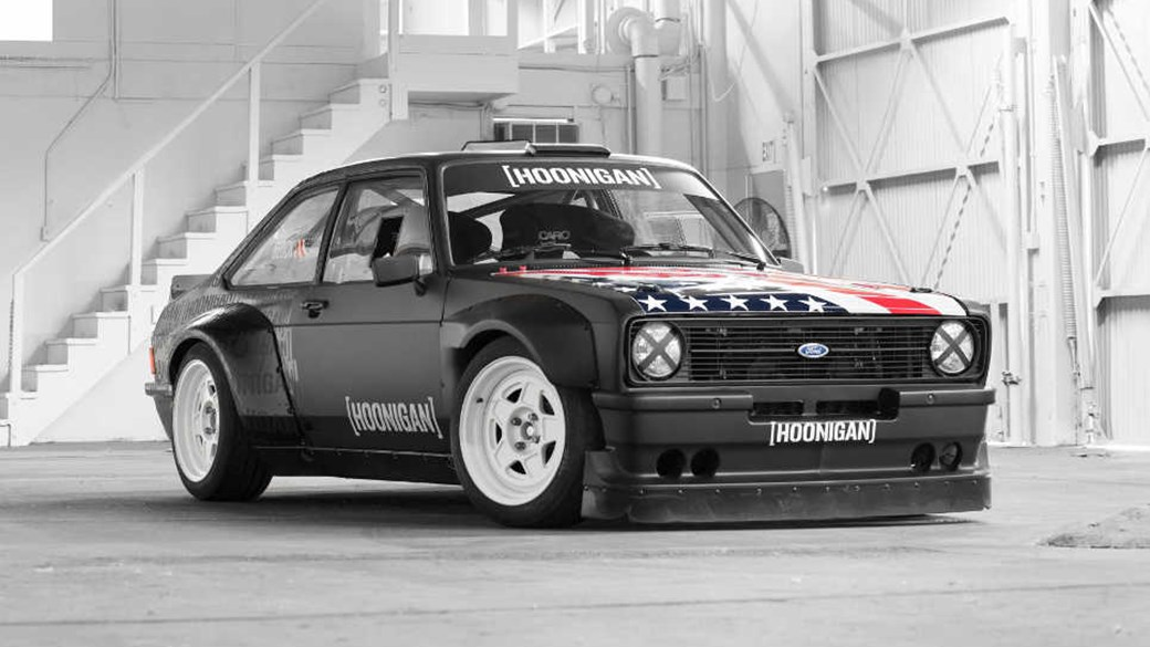 Old school rules: Ken Block\'s new Ford Escort Mk2 Gymkhana car by ...