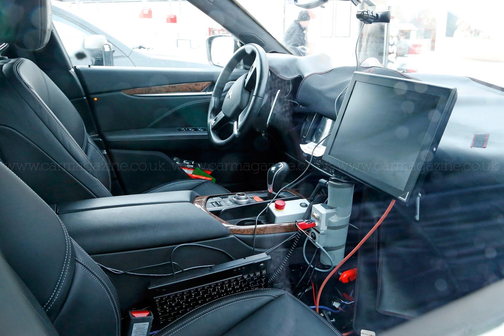Maserati Levante Suv 2016 A Peek Inside Maser S 4x4 Car Magazine