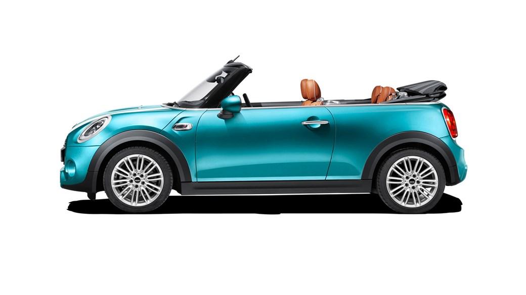 Mini Declares Open Season 2016 Mini Convertible Revealed Car Magazine