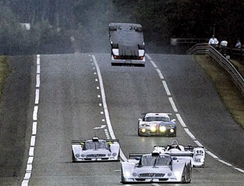 Mark Webber Le Mans crash