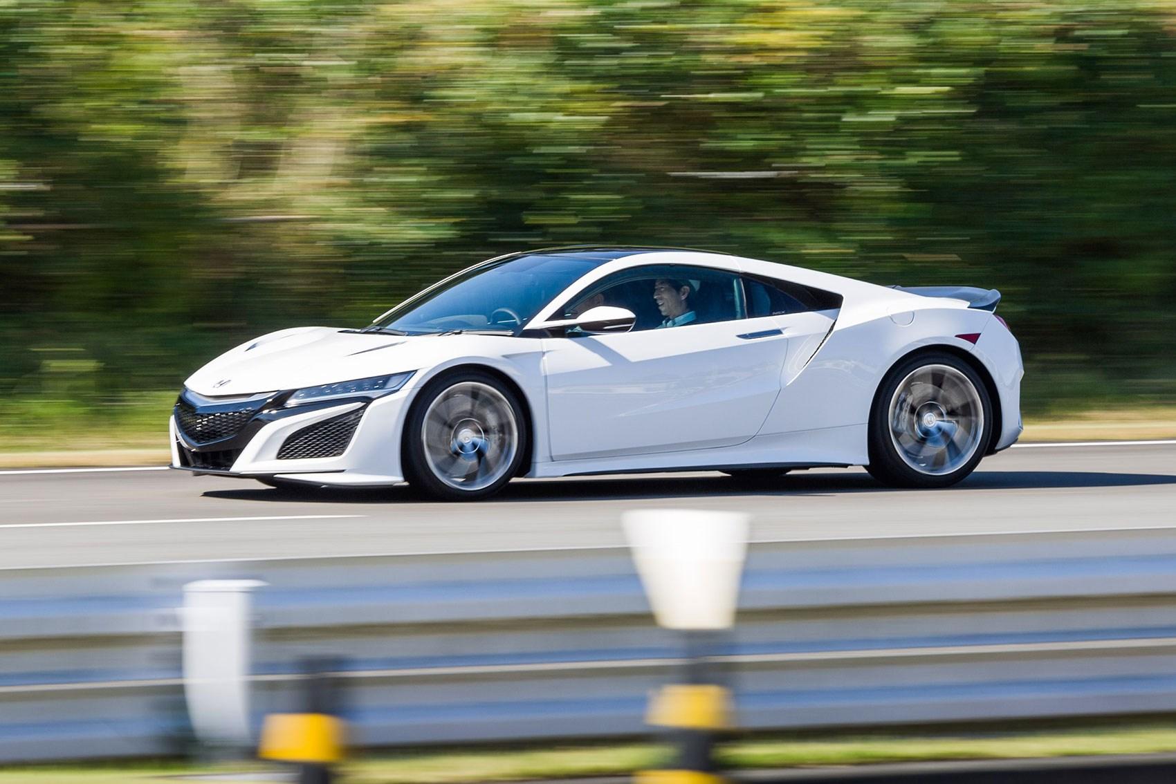 Honda NSX hybrid sports car
