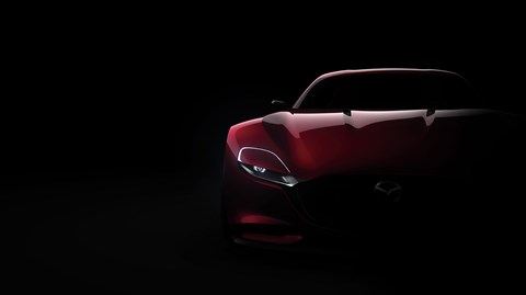 Rotary power! The new Mazda RX-Vision concept car