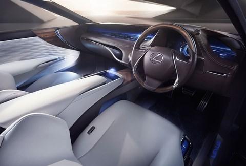 The Lexus LF-FC: not a football club, a luxury car