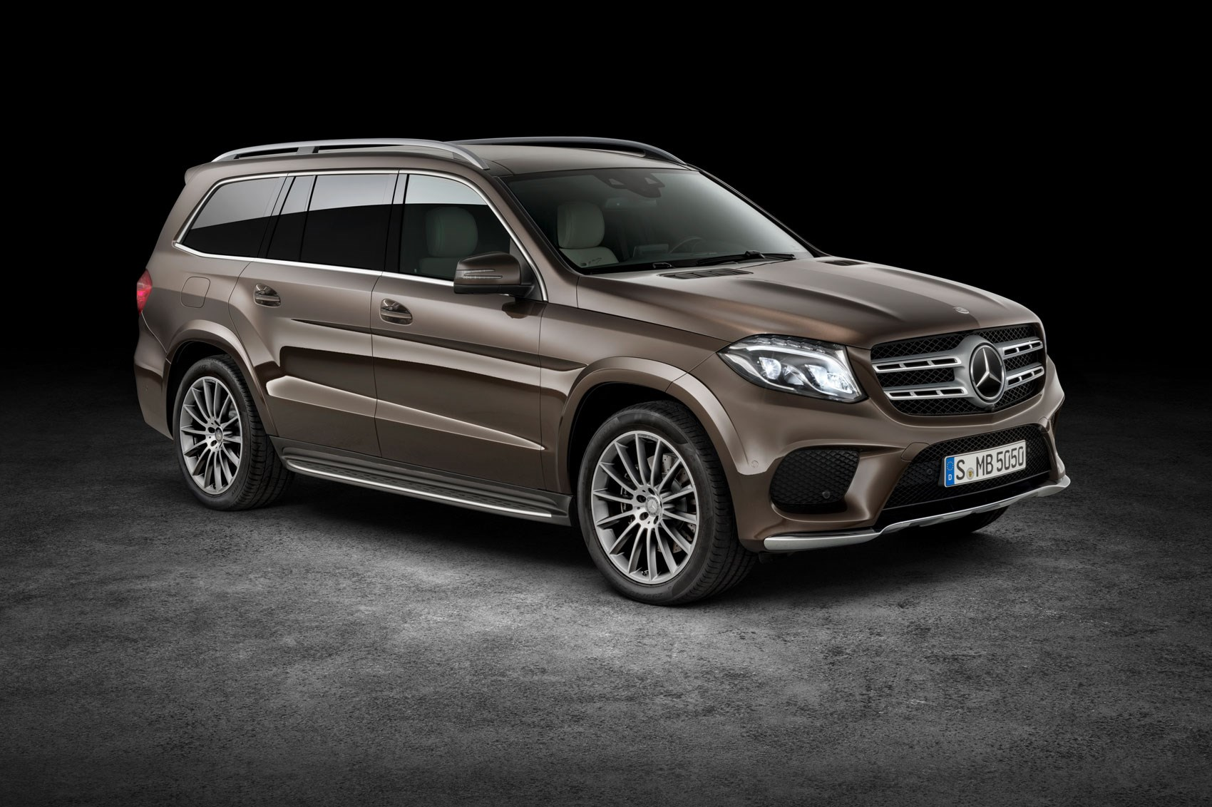 A Vision In Brown The New Mercedes Gls