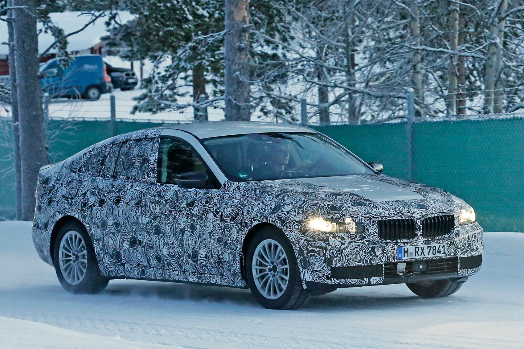 2016 bmw 5 series gran turismo testing in sweden new gt is expected to reach market shortly before the new 5 series saloon