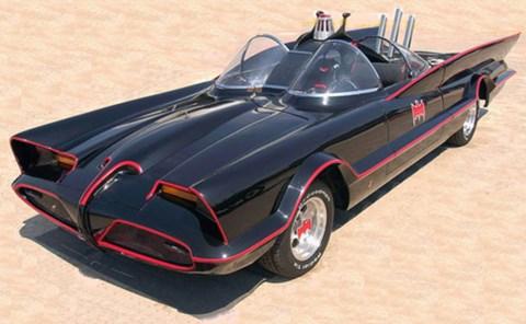Batmobile, aka Lincoln Futura