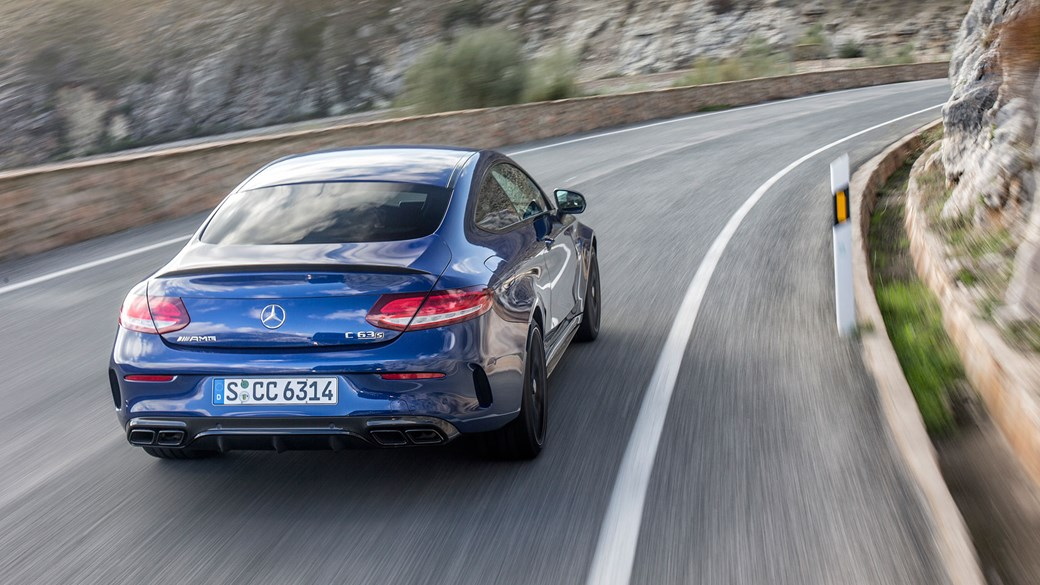 Mercedes Amg C63 S Coupe 2017 Review