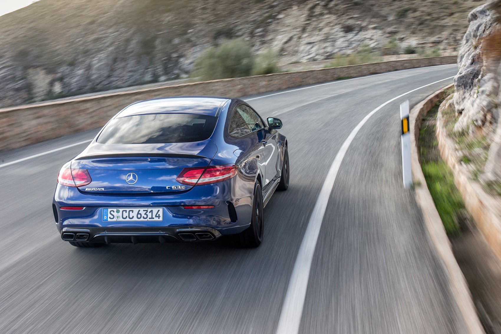 Mercedes amg c63 s coupe 2015 review by car magazine - Mercedes c63 amg coupe 2015 ...