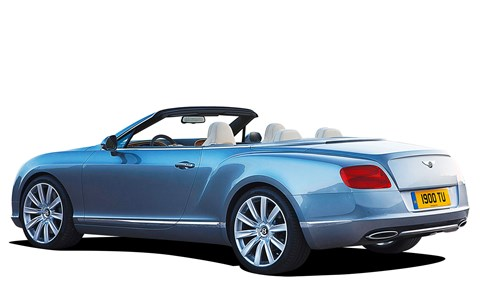 Bentley Continental GTC, according to Derek, running costs annually are no more than a BMW 6-series