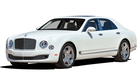 The Bentley Mulsanne, a car which takes 570 hours to build is respected in its price, £100k for a used example