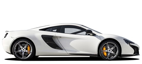 The McLaren 650s gets almost 80bhp over its smaller brother