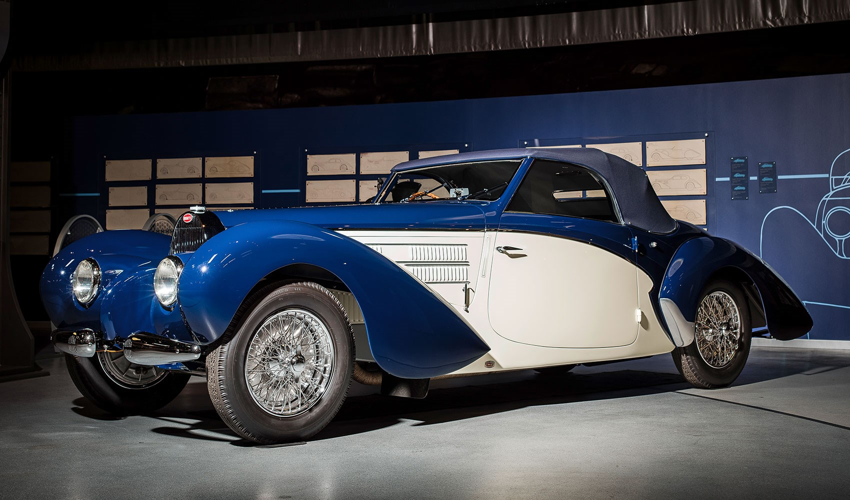 Step Inside The World S Greatest Bugatti Collection Car