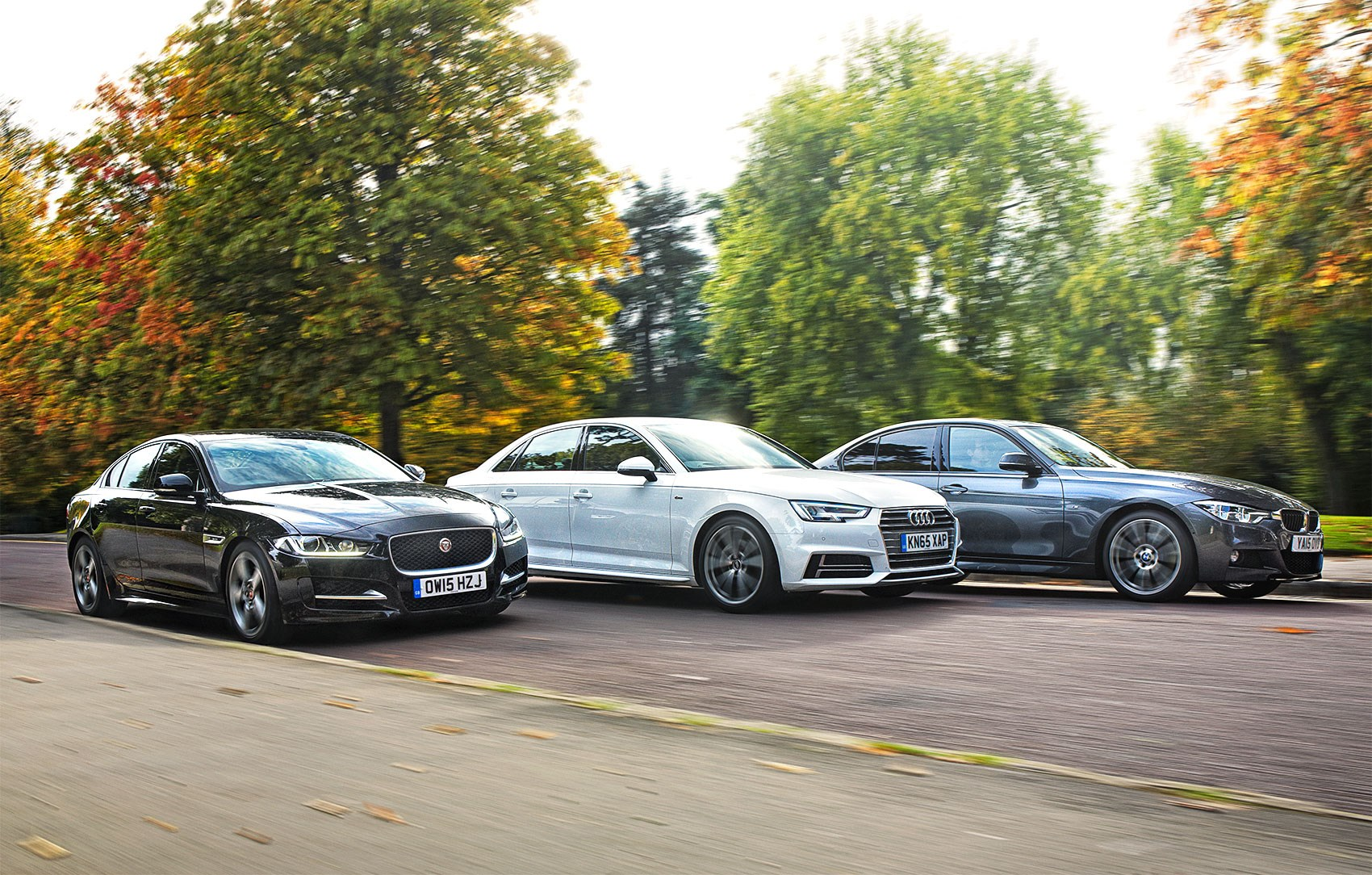 The New Audi A4 Takes On BMWu0027s Updated 3 Series And Jaguaru0027s XE ...