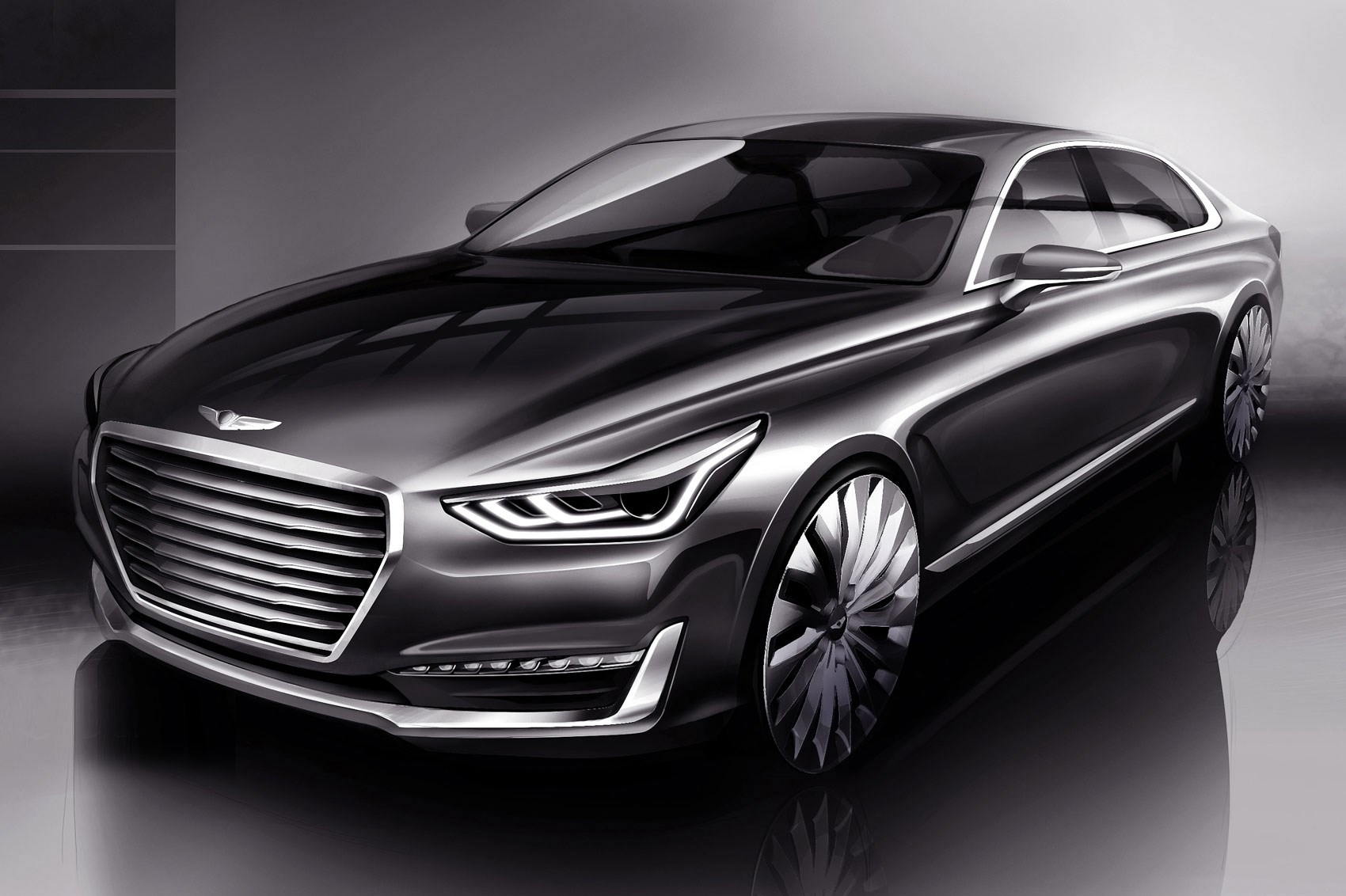 genesis autocar new specs car cars hyundai and pictures news