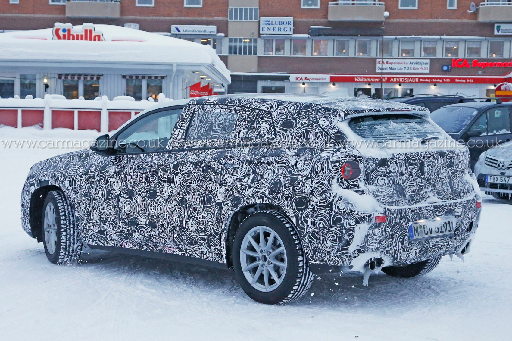 This Is Our Best Look Yet At The New Bmw X2 Suv