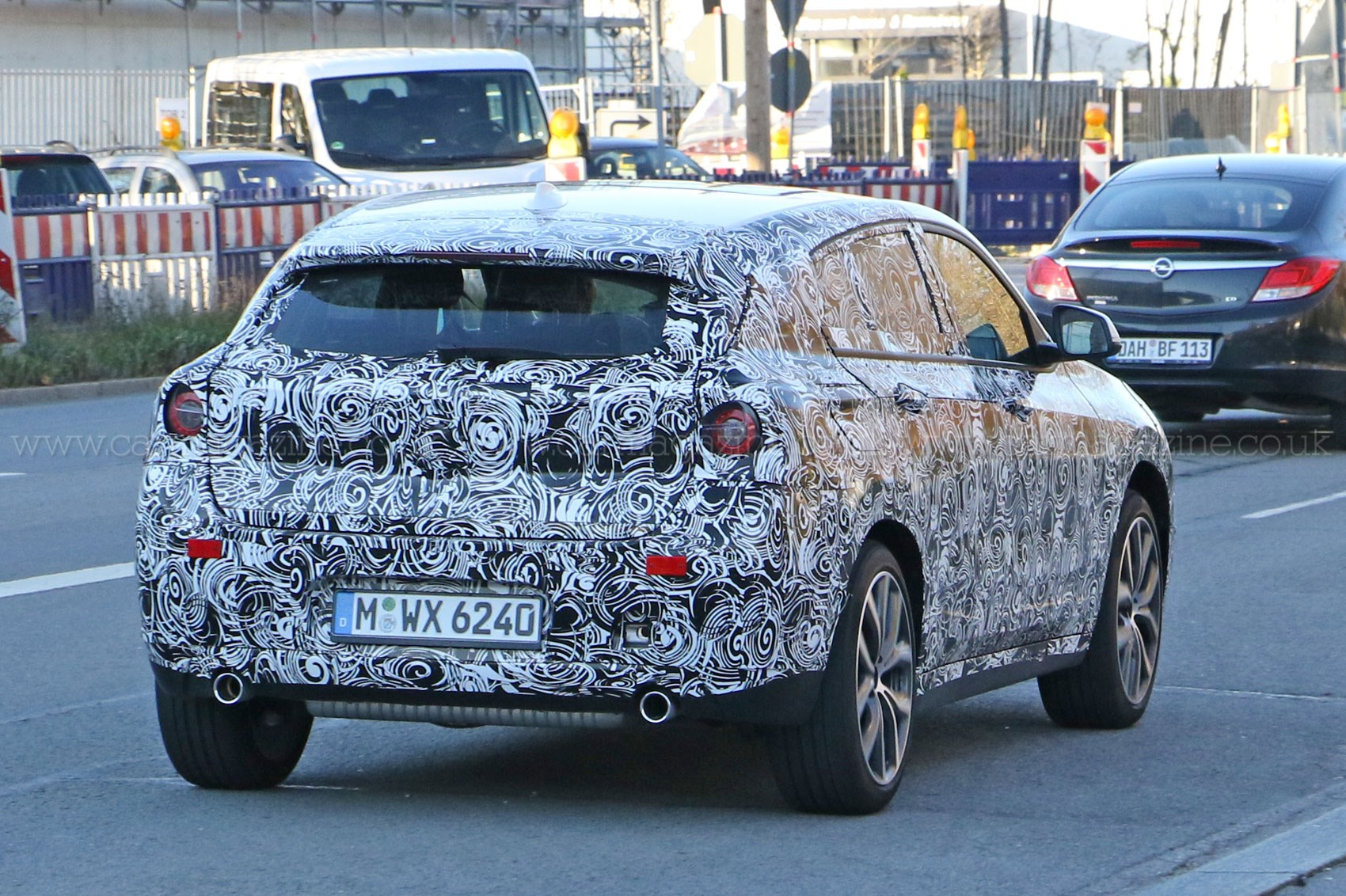 This Is Our Best Look Yet At The New Bmw X2 Suv Car Magazine