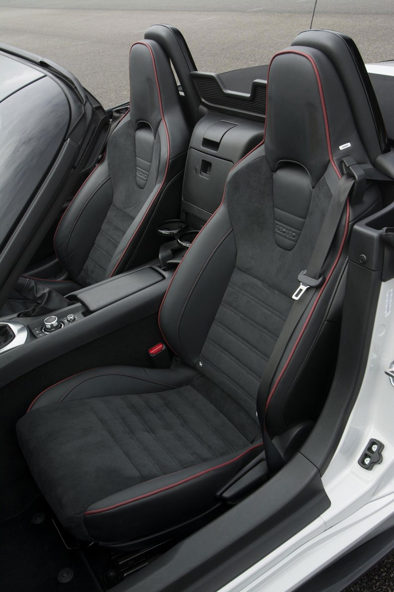 Mazda Mx 5 Sport Recaro 2015 The Limited Editions Start