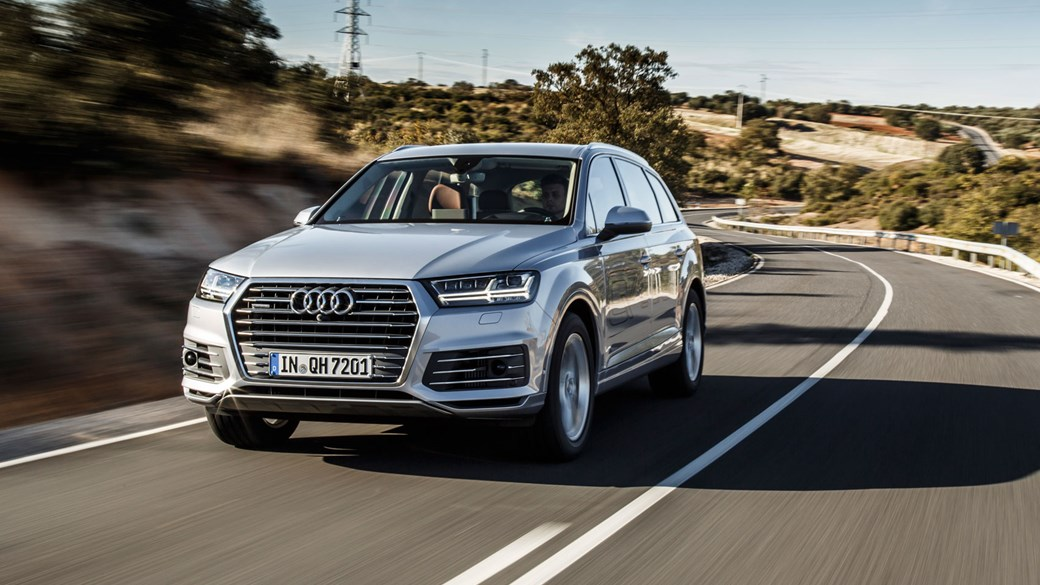 Audi Q7 e tron 2016 plug in hybrid review