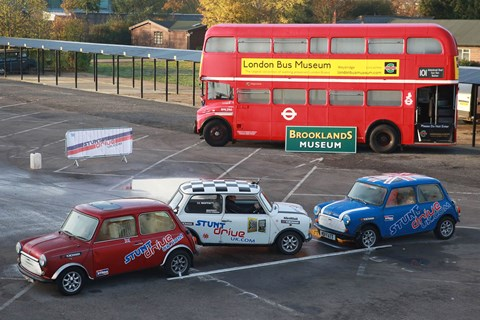 Breathe in: Moffat's Mini sets a new world record for the tightest ever reverse parallel park