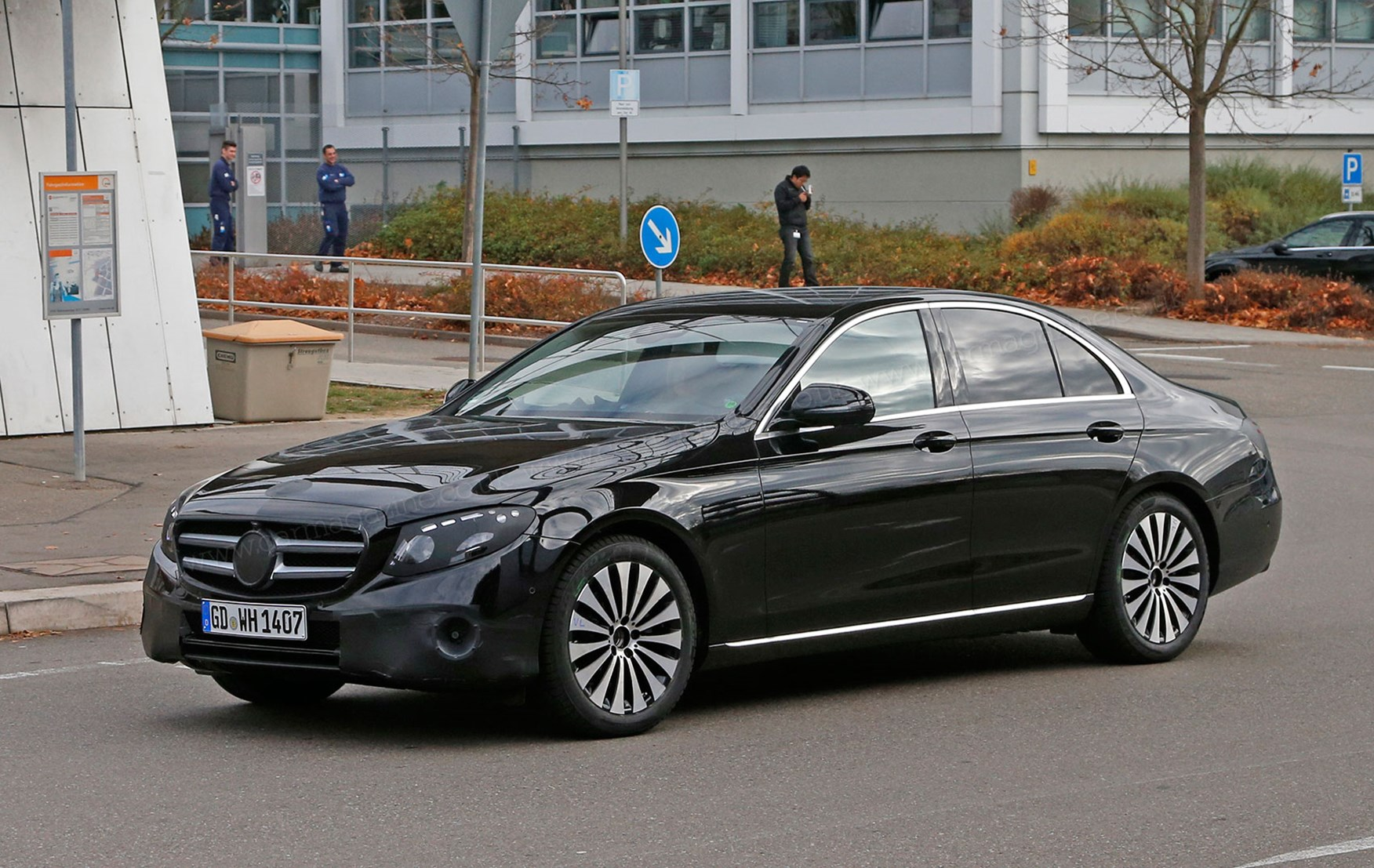 2017 Mercedes Benz S550 Sedan >> 'Whoops! We forgot to disguise the new 2016 Mercedes E-class!' by CAR Magazine