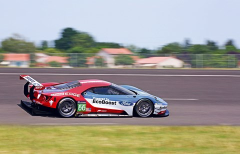 Road or race car? Both. Will it win at Le Mans on its return next year? Who knows, but it stands a good chance