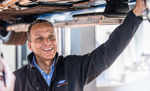 RS engineering  boss Tyrone Johnson: 'This was almost like moving worlds'