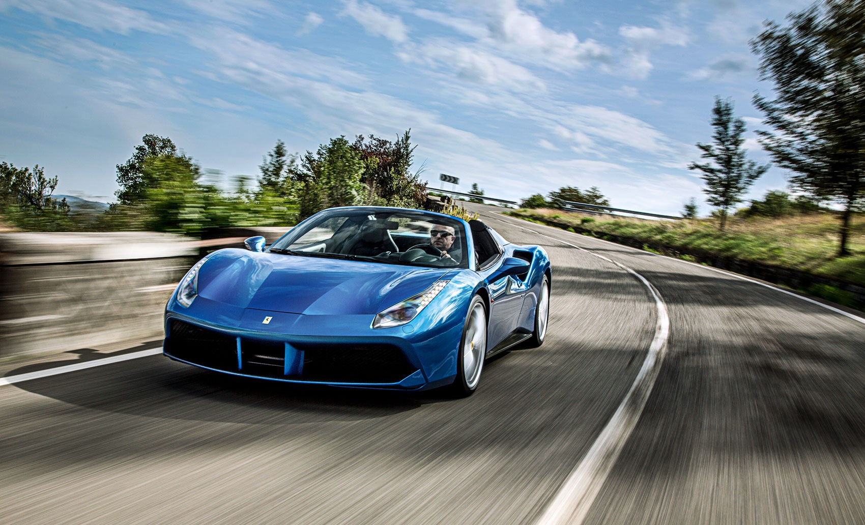 Special If Not Actually Speciale Ferrari 488 Spider