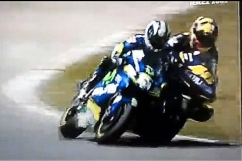 Valentino Rossi vs Sete Gibernau, Jerez