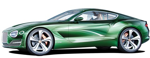 The next-gen Bentley Continental GT and two-seat Speed 6 coupe will use Porsche's MSB chassis
