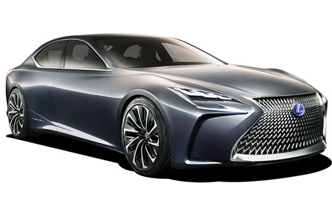 Lexus LF-LC Flagship Concept could be an alternative to the 7-series