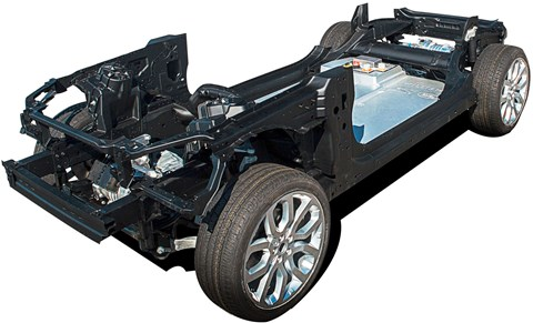 The E-pace chassis?