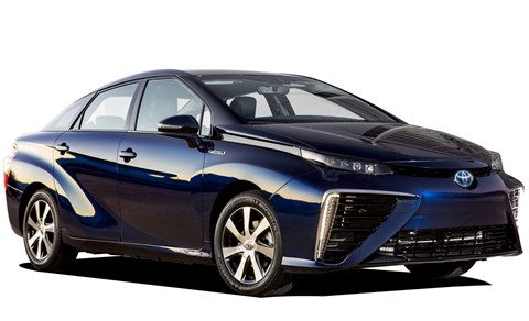 Toyota's hydrogen fuel-cell  Mirai – like all pioneers it has quite a few detractors