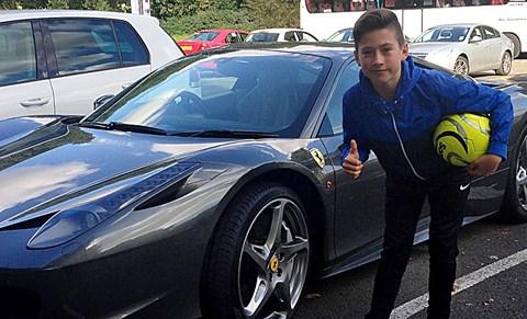Footballer's car?