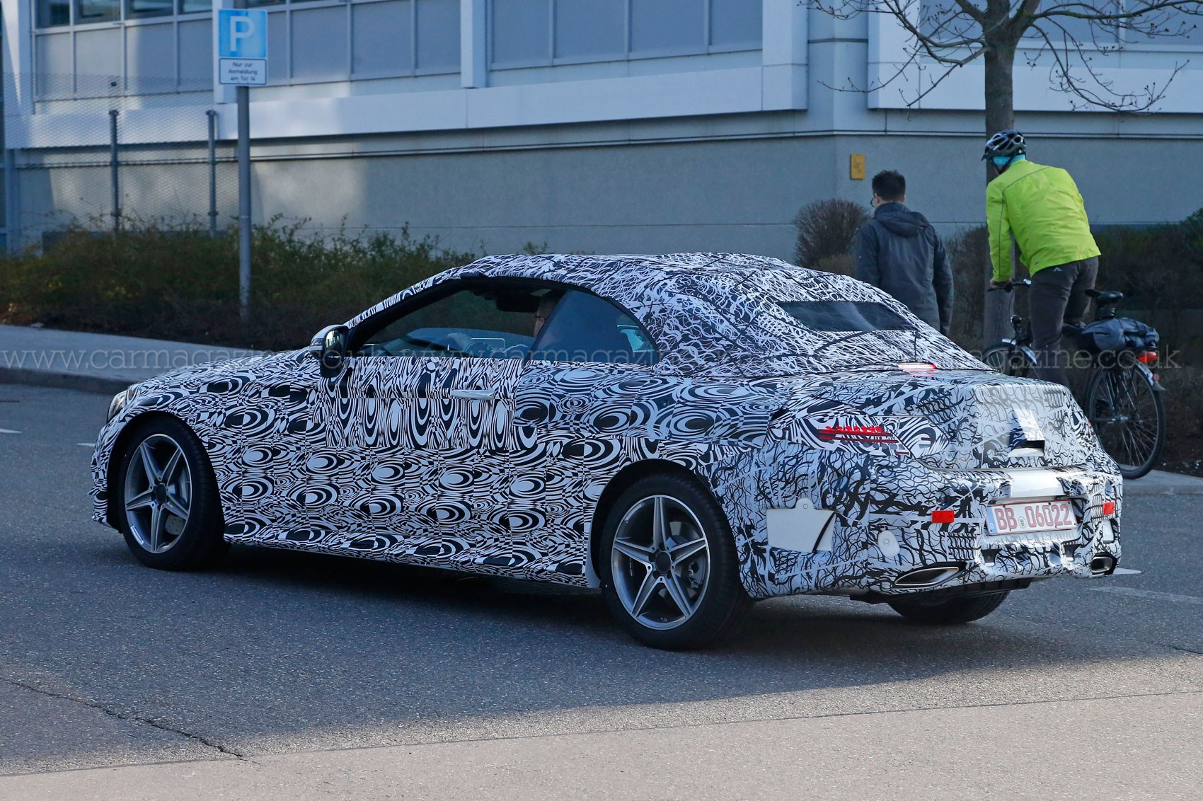 New Mercedes C Class Convertible Keeps It Under Canvas For