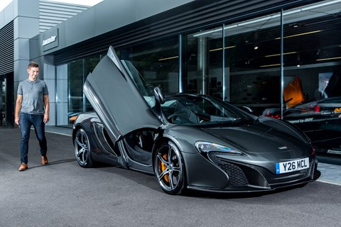 Meet CAR magazine's McLaren 650S Spider