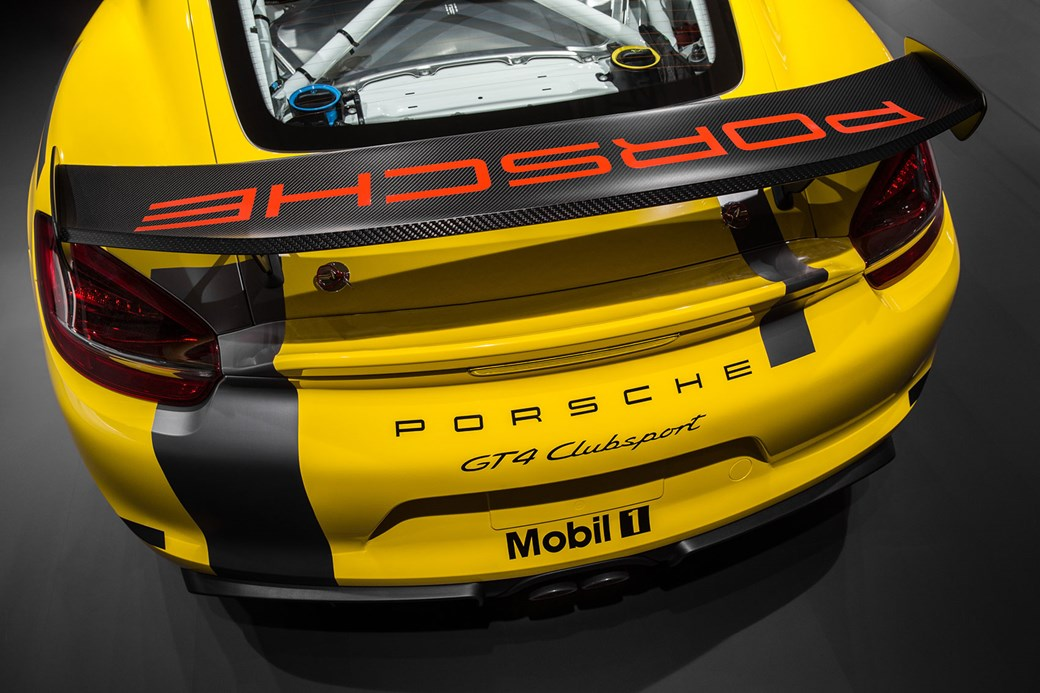 The Porsche Cayman GT4 Clubsport