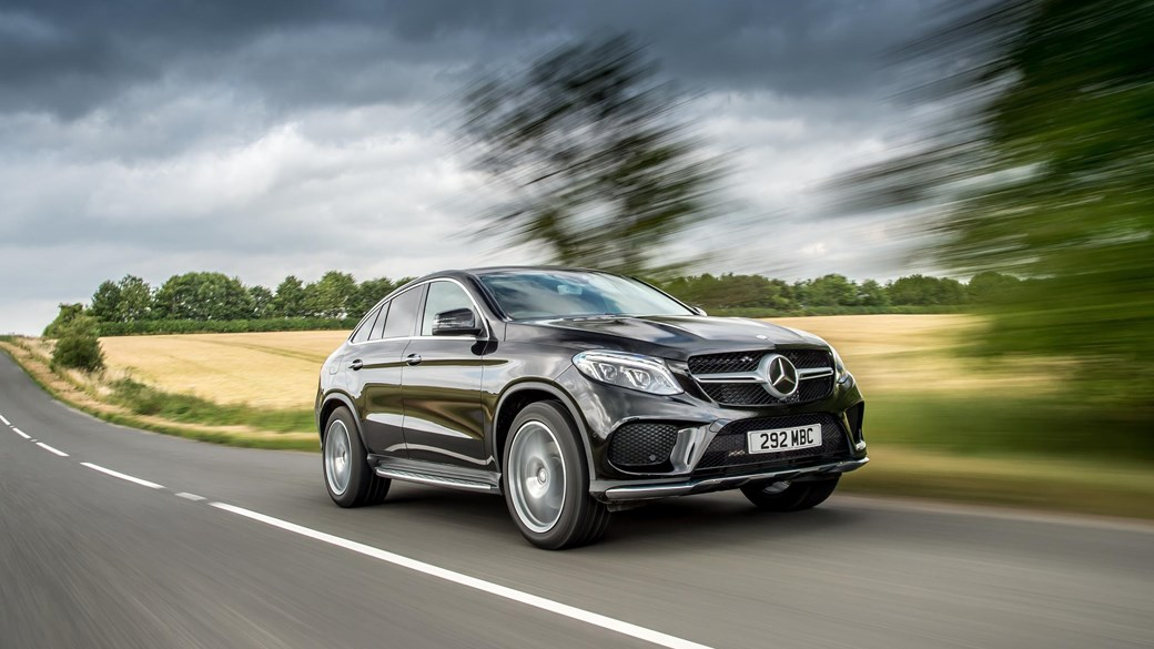 mercedes benz gle coupe 350d