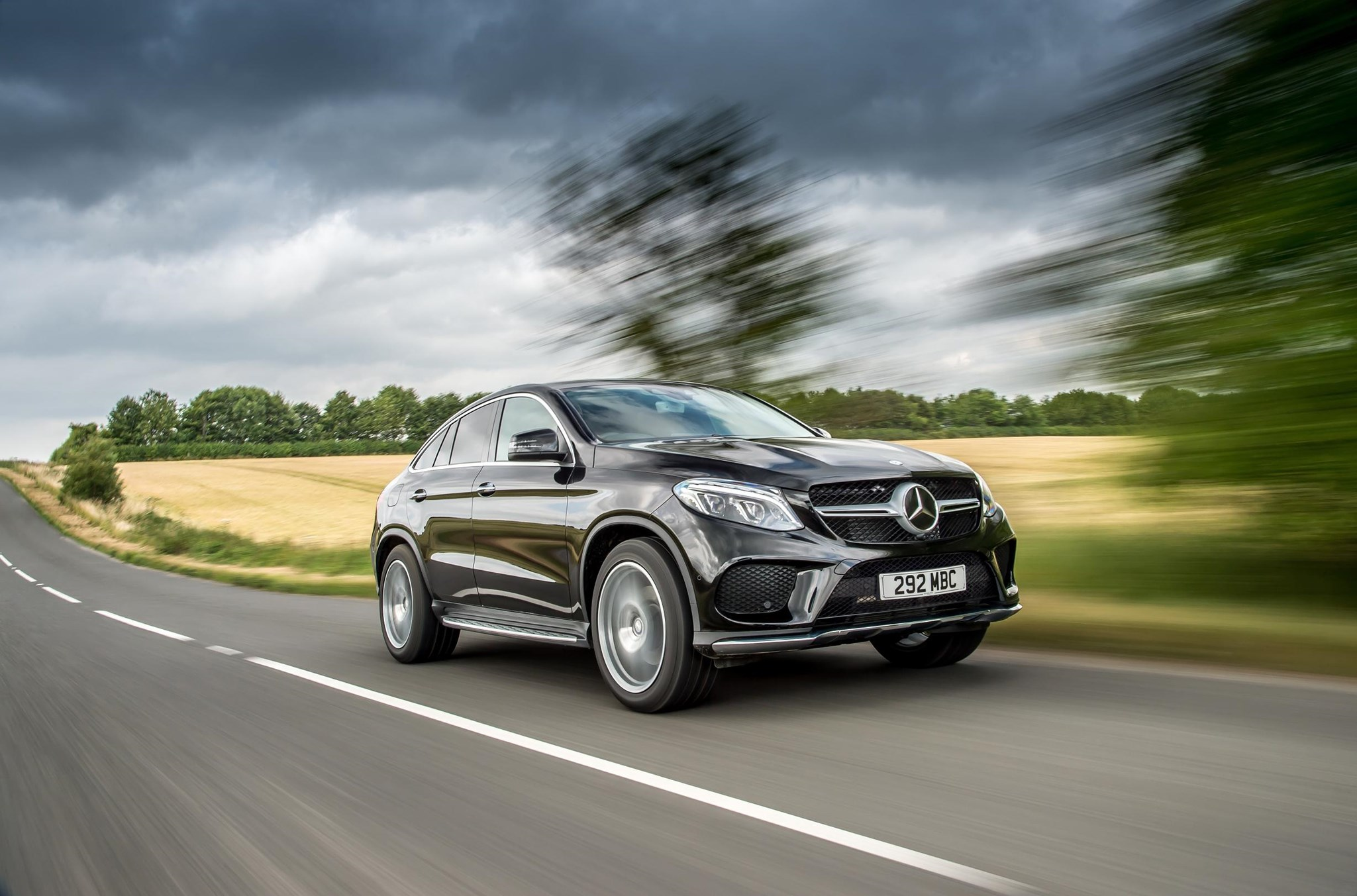 Used BMWs For Sale >> Mercedes-Benz GLE 350d 4Matic AMG Line Coupe (2015) review ...