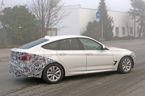 BMW 3-series GT facelift