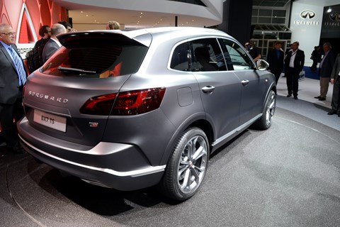Borgward BX7: China's answer to the BMW X5