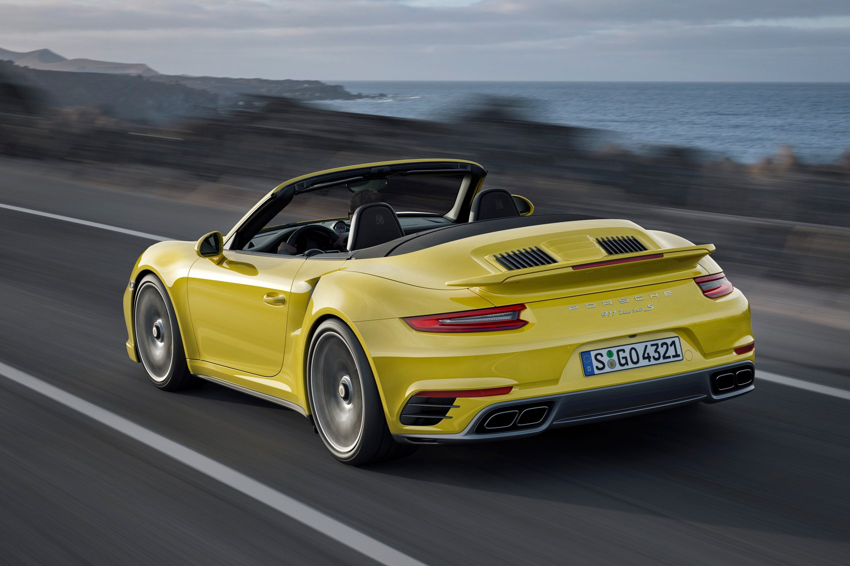 Renewed Porsche 911 Turbo for 2016 the fastest 911 gets faster