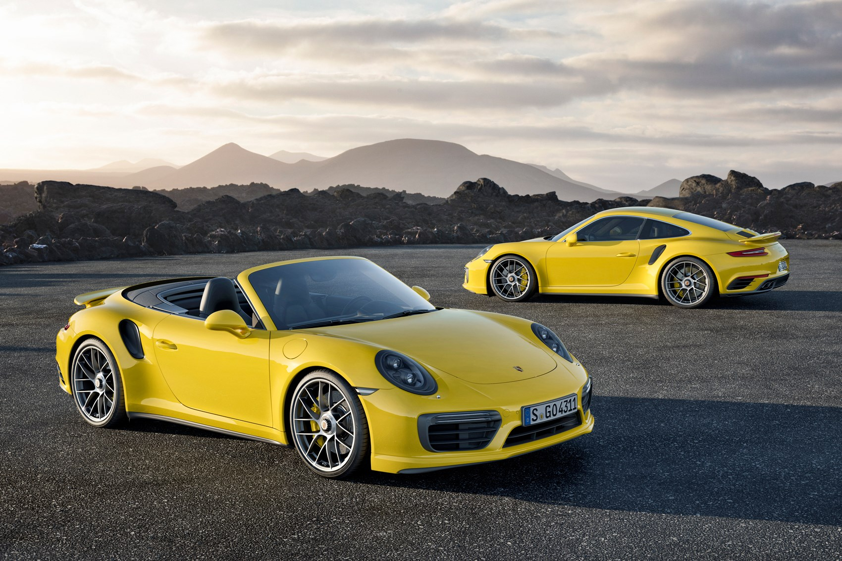 Porsche 911 Turbo And S Coupe Cabrio Are Updated For 2016