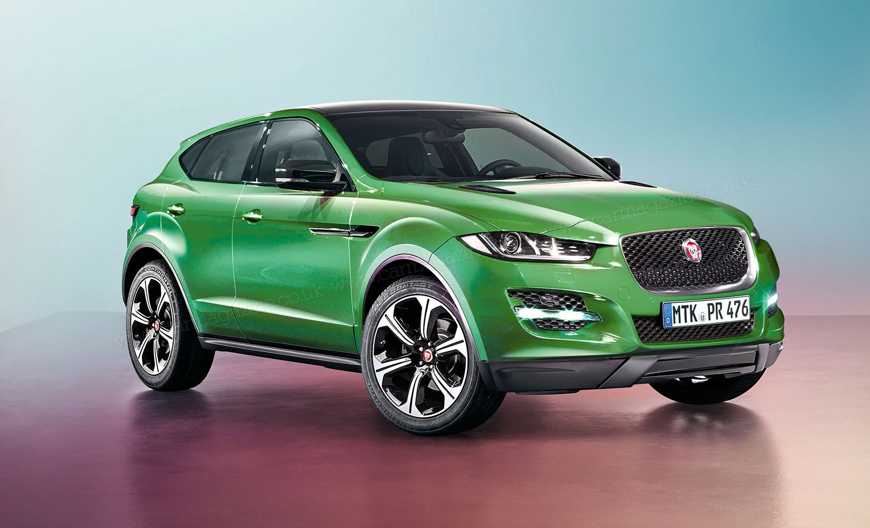 jaguar e pace revealed the big cat 39 s first ev will also be an suv car magazine. Black Bedroom Furniture Sets. Home Design Ideas