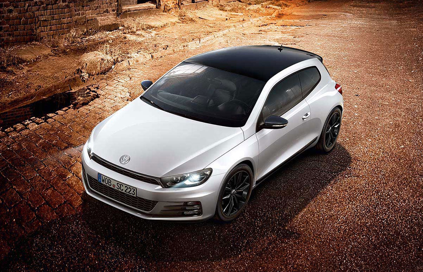 vw scirocco gt and r line black editions that are white car magazine. Black Bedroom Furniture Sets. Home Design Ideas