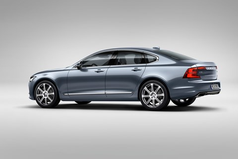 A new style for big Volvos? 2016 S90 is here