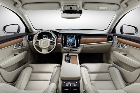Inside the new 2016 Volvo S90