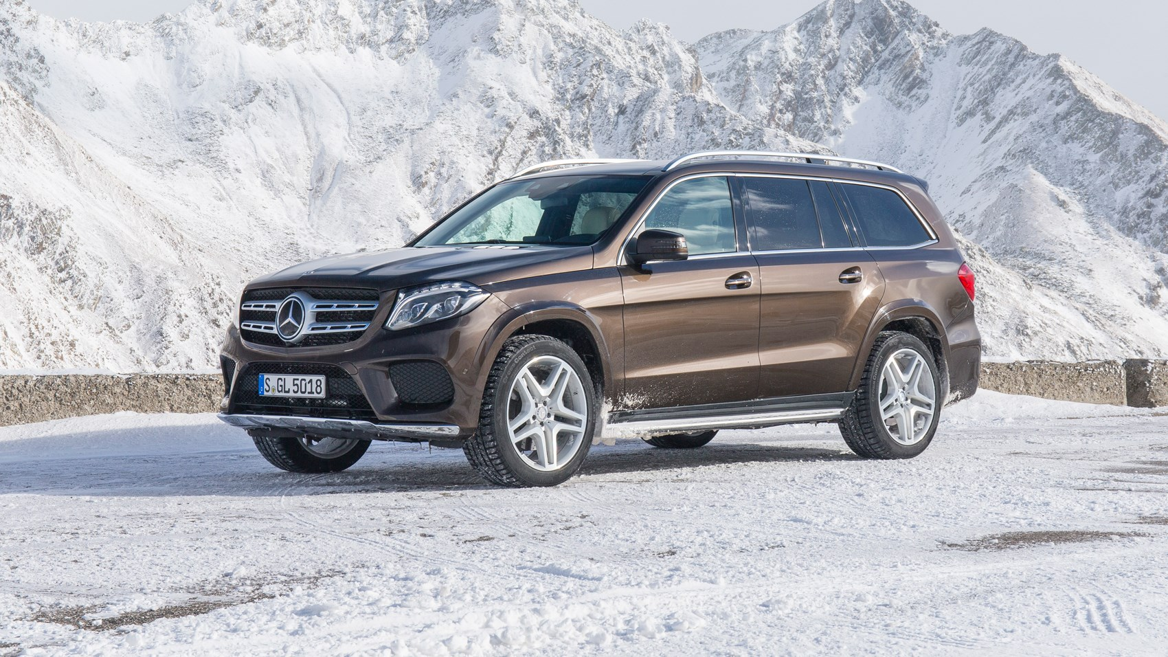 Mercedes Gls 350d 4matic 2016 Review By Car Magazine